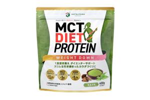 MCTダイエットプロテイン ウェイトダウン 黒糖抹茶味